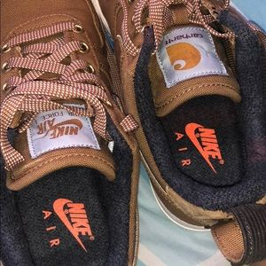 Nike Shoes - The Carhartt WIP x Air Force 1 '07 PRM 'Ale Brown